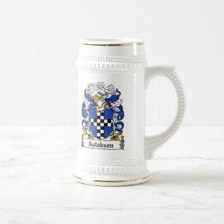 Aslaksen Family Crest Mug