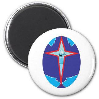 aslan 11dove, deaf 2 inch round magnet