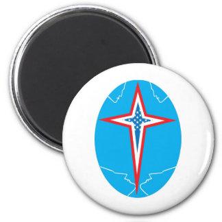 aslan America 2 2 Inch Round Magnet