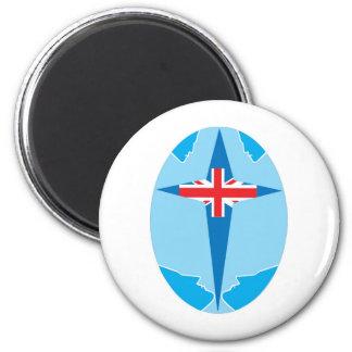 aslan England 2 Inch Round Magnet