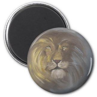 Aslan - Lion 2 Inch Round Magnet