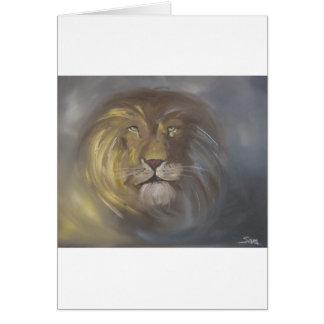 Aslan Lion Card