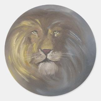 Aslan - Lion Classic Round Sticker