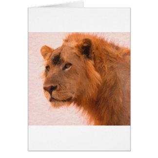 Aslan The king art Card
