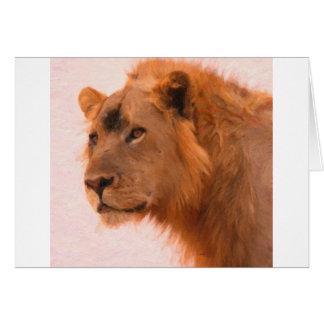 Aslan The king Card