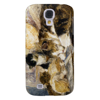 """Asleep in the Artists Studio"" by Henriette Ronner Samsung Galaxy S4 Cover"