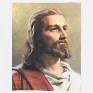ASLEEP with JESUS Fleece Blanket