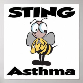 Asma de STING Póster