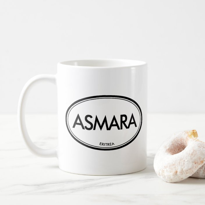 Asmara, Eritrea Coffee Mug