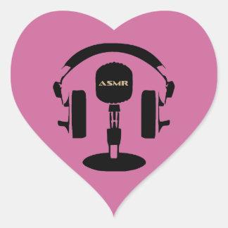 ASMR Logo Heart Sticker