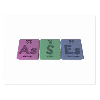 Asno-Como-s-Es-arsénico-azufre-Einsteinio Postal