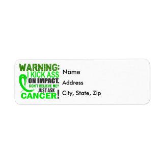 Asno del retroceso en el impacto NH Lympoma.png Etiqueta De Remite