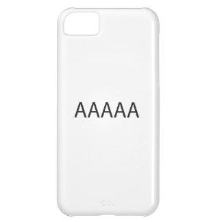 Asociación americana contra abuso de las siglas carcasa iPhone 5C