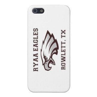 Asociación atlética Ryaa Eagles de la juventud de iPhone 5 Funda