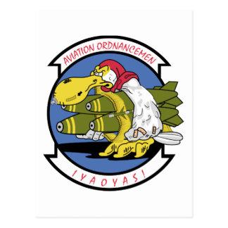 Asociación de la aviación Ordnancemen Postales