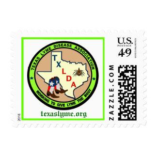 Asociación de la enfermedad de Tejas Lyme Sello Postal