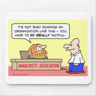 asociación de los anarquistas discreta tapetes de raton