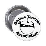Asociación del profesor de Badass - Ninja Apple fi Pins
