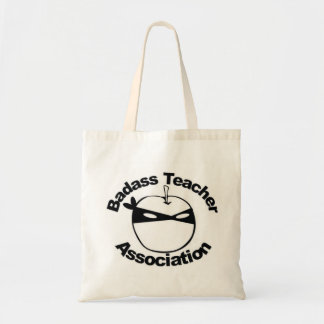 Asociación del profesor de Badass - tote de Ninja  Bolsa Tela Barata