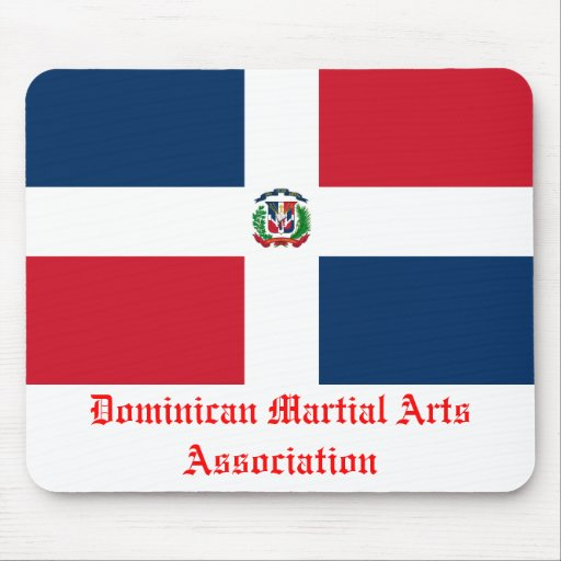 Asociación dominicana de los artes marciales alfombrillas de raton