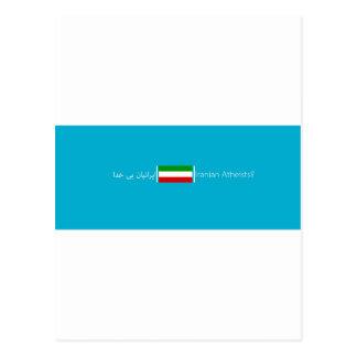 Asociación iraní de los ateos postal