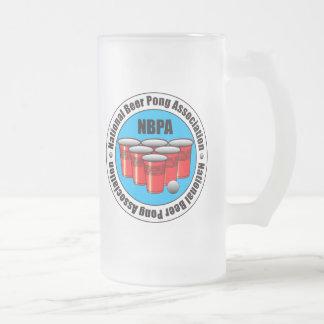 Asociación nacional de Pong de la cerveza Taza De Cristal