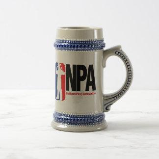 Asociación nacional del chulo jarra de cerveza
