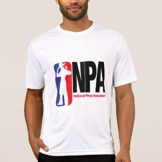 Asociación nacional del chulo camisetas