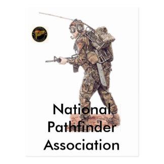 Asociación nacional del pionero tarjeta postal