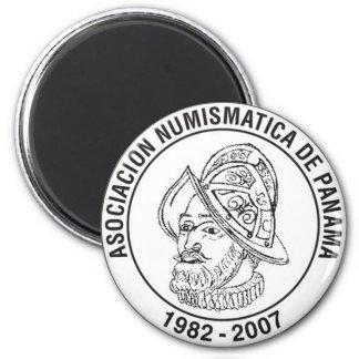 Asociación Numismática De Panamá imán Fridge Magnet