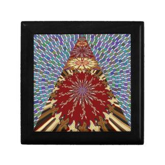 ASOLEE Chakra con 1000 REGALOS artísticos de la Joyero Cuadrado Pequeño