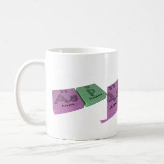 Asp as As Arsenic and P Phosphorus Coffee Mug