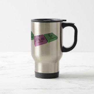 Asp as As Arsenic and P Phosphorus Travel Mug