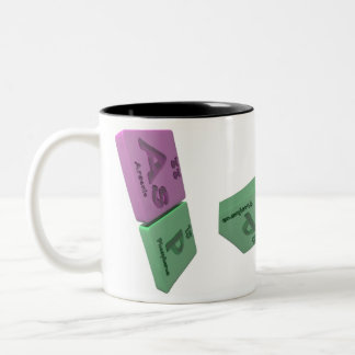 Asp as As Arsenic and P Phosphorus Two-Tone Coffee Mug