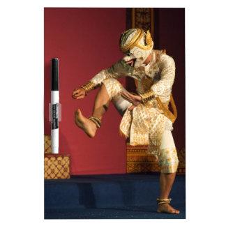 aspara dancer monkey. Cambodia Dry-Erase Board
