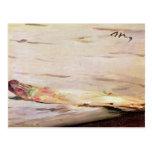 Asparagus, 1880 postcard