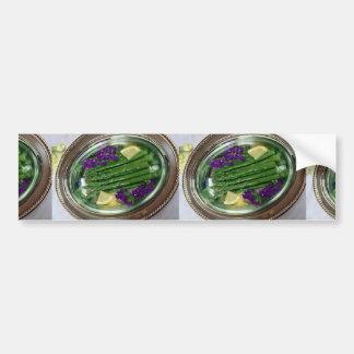 Asparagus Car Bumper Sticker