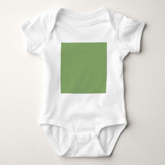 Asparagus Green Baby Bodysuit