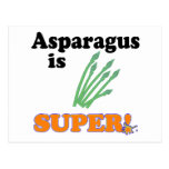 asparagus is super postcard