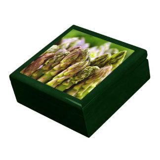 Asparagus Jewelry Box