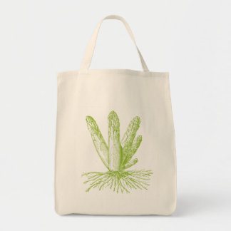 Asparagus Organic Grocery Tote