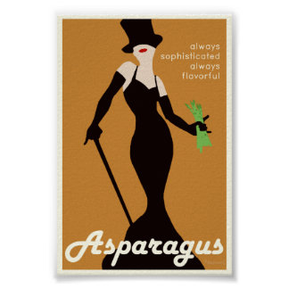 Asparagus Promotional Poster - 4x6