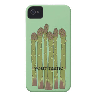 Asparagus Spears Vegetables Custom Name Blackberry iPhone 4 Covers