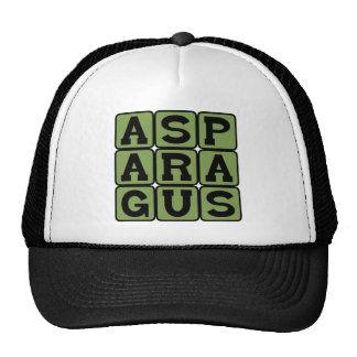 Asparagus, Stemmed Vegetable Trucker Hat