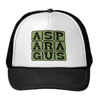 Asparagus, Stemmed Vegetable Trucker Hat