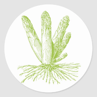 Asparagus Stickers