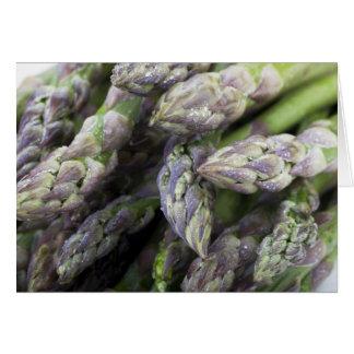Asparagus Tips Greeting Card