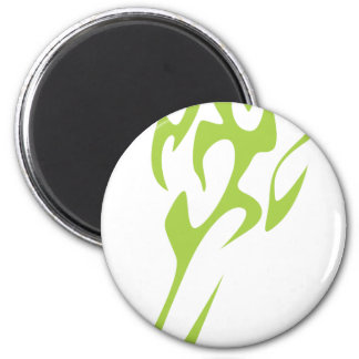 Asparagus Vegetable Icon 2 Inch Round Magnet