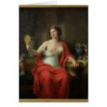 Aspasia, 1794 card