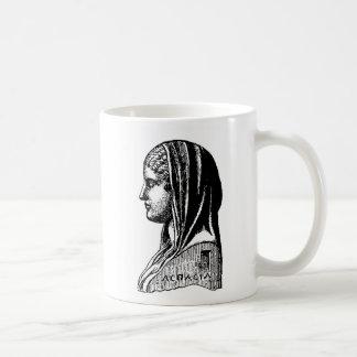 Aspasia Classic White Coffee Mug